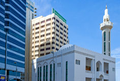 Abu Dahbi Stockfoto