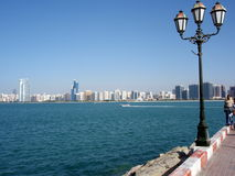 Abu Dhabi Stockfoto
