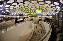 Abu Dhabi Airport Lizenzfreies Stockbild