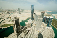 Abu Dhabi - Al Reem ö Arkivbild