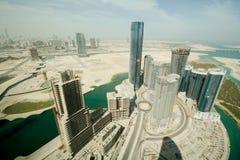 Abu Dhabi- - Al Reem-Insel Stockfotografie