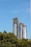 Abu Dhabi Building Construction Foto de archivo