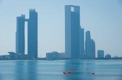 Abu Dhabi Buildings Lizenzfreie Stockbilder