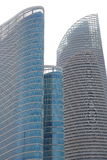 Abu Dhabi Buildings Closeup Lizenzfreie Stockfotografie