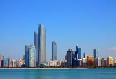 Abu Dhabi Buildings Royalty Free Stock Photography