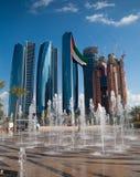 Abu Dhabi Central Photo stock