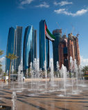 Abu Dhabi Central Stock Photo