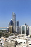Abu Dhabi city Stock Image