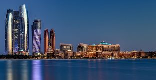 Abu dhabi. City royalty free stock images