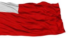 Abu Dhabi City Flag d'isolement Photo libre de droits