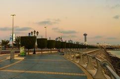Abu Dhabi-corniche Stockfotografie