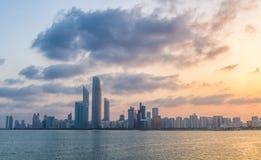 Abu Dhabi-corniche Stockfotos