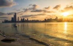 Abu Dhabi-corniche Lizenzfreies Stockfoto