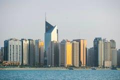 Abu Dhabi-corniche Lizenzfreie Stockfotos