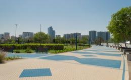 Abu Dhabi corniche Royalty Free Stock Image