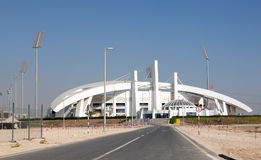 Abu Dhabi Cricket Club Stadium Lizenzfreie Stockbilder