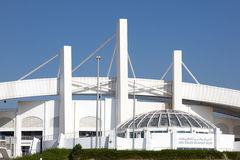 Abu Dhabi Cricket Club Stadium Stockbild