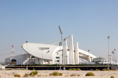 Abu Dhabi Cricket Club Stadium Stockbilder