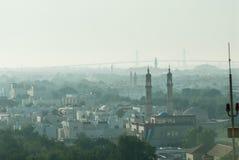 Abu Dhabi-Dachspitzen Lizenzfreies Stockfoto