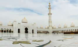 ABU DHABI - 5 DE JUNHO: Sheikh Zayed Imagem de Stock Royalty Free