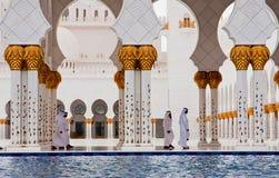 ABU DHABI - 5 DE JUNHO: Sheikh Zayed Fotos de Stock Royalty Free