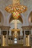 ABU DHABI, DE V.A.E - 11 MAART 2019: Sheikh Zayed Grand Mosque, Abu Dhabi, de V.A.E op 11 Maart, 2019 in Abu Dhabi stock foto