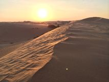 Abu Dhabi Desert fotografia stock