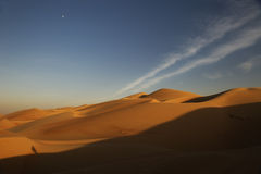 Abu Dhabi Desert Stockfoto
