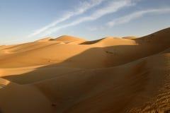 Abu Dhabi Desert Stockbild