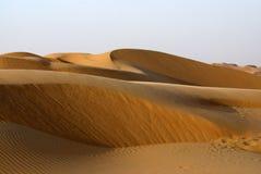 Abu Dhabi Desert Stockfotografie