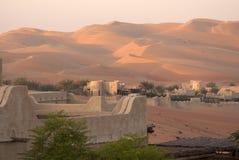 Abu Dhabi Desert Lizenzfreie Stockfotografie