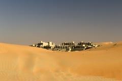 Abu Dhabi Desert Lizenzfreie Stockfotos