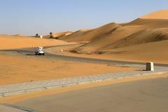 Abu Dhabi Desert Stockbilder