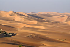 Abu Dhabi desert Stock Photography