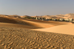 Abu Dhabi desert Royalty Free Stock Photography
