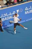 Abu Dhabi Djokovic b 2012 Lizenzfreies Stockbild