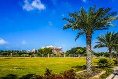 Abu Dhabi Emirates Palace royalty-vrije stock afbeelding