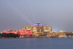 Abu Dhabi Emirates Palace Lizenzfreie Stockbilder