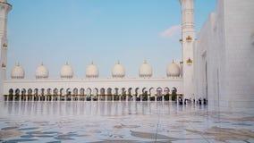 Abu Dhabi, Emiratos Árabes Unidos Mesquita do Sheikh Zayed Escaninho Sultão Al Nahyan filme