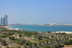 Abu Dhabi Förenade Arabemiraten Arkivfoto