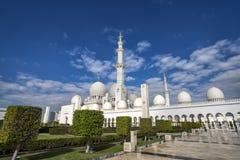 Abu Dhabi Förenade Arabemiraten, JANUARI 04, 2018: Sikt av Royaltyfria Foton