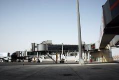 Abu Dhabi-Flughafen Lizenzfreie Stockfotos