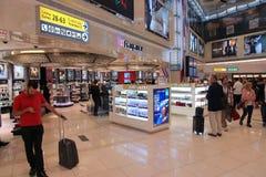 Abu Dhabi-Flughafen Stockfoto