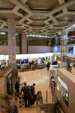 Abu Dhabi-Flughafen Stockbild
