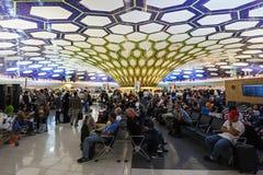 Abu Dhabi-Flughafen Stockfotografie