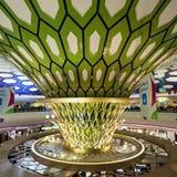 Abu Dhabi-Flughafen Lizenzfreies Stockbild