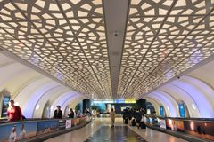 Abu Dhabi flygplats Fotografering för Bildbyråer