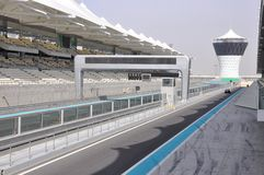 Abu Dhabi. The Formula 1 racetrack Stock Photo