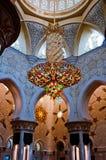 ABU DHABI - 5 GIUGNO: Sheikh Zayed Fotografie Stock Libere da Diritti