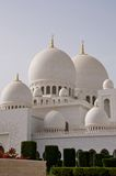 Abu dhabi gran mosque Royalty Free Stock Image